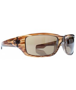 Spy Nolen Sunglasses Brown Stripe Tortoise/Bronze Lens