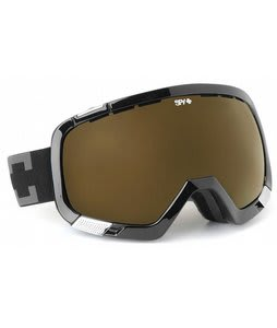 Spy Platoon Goggles Black/Bronze Lens