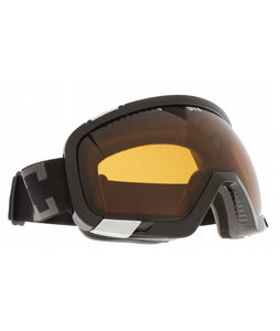 Spy Platoon Goggles Black/Bronze/Persimmon Lens