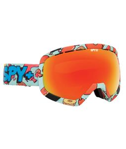 Spy Platoon Goggles Spy + Wiley Miller/Yellow/ Green Spectra + Bronze/Red Spectra Lens