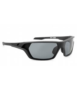 Spy Quanta Sunglasses Matte Black/Grey Lens
