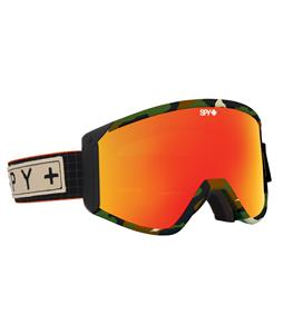 Spy Raider Goggles Spy + Darrell Mathes/Bronze/Red Spectra + Persimmon Lens