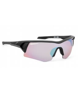 Spy Screw Commando Kit Sunglasses Matte Black/Rose Contact+Bronze Lens