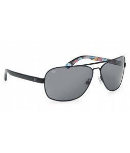 Spy Showtime Sunglasses Matte Black '93 Helmet/Grey Lens