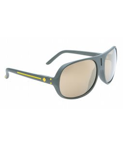 Spy Stratos II Sunglasses Matte Green/Bronze/Gold Mirror Lens