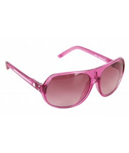 Spy Stratos II Sunglasses Pop Pink/Merlot Fade Lens