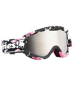 Spy T3 Goggles Spy + Keep A Breast/Bronze/Silver Mirror Lens
