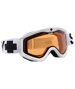 Spy T3 Goggles White/Persimmon Lens