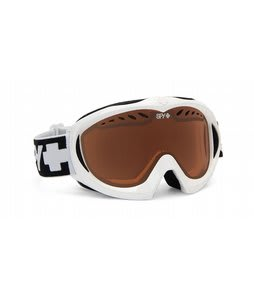 Spy Targa Mini Goggles White/Persimmon Lens