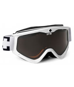 Spy Targa 3 Goggles Snow White/Bronze Lens