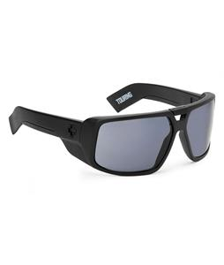 Spy Touring Sunglasses Matte Black/Grey Lens