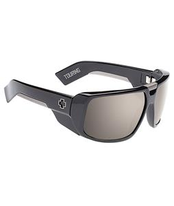 Spy Touring Sunglasses Black/Happy Bronze Polarized/Black Mirror Lens