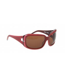 Spy Thrash Sunglasses Pink Layered/Bronze Lens