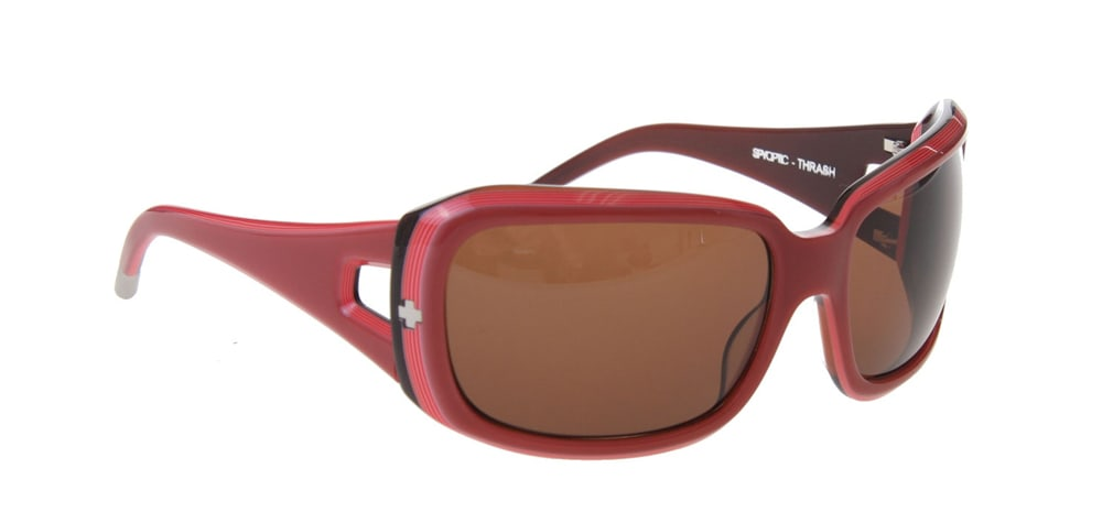 Shop for Spy Thrash Sunglasses Pink Layered/Bronze Lens - Women's