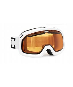 Spy Trevor Goggles White/Persimmon Lens