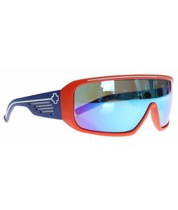 Spy Tron Sunglasses Swamp Thing Matte Orange/Blue/Grey/Blue Spectra Lens