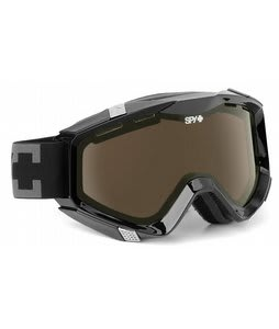 Spy Zed Goggles Black/Bronze Lens