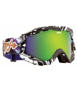 Spy Zed Goggles SPY+Yes+Dcp/Bronze/Green Spectra Lens