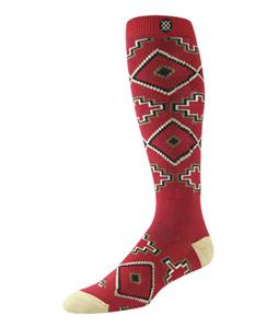 Stance Acoma Snowboard Socks Red