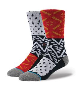 Stance Beacon Socks Red