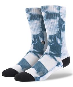 Stance Burn Out Socks Blue