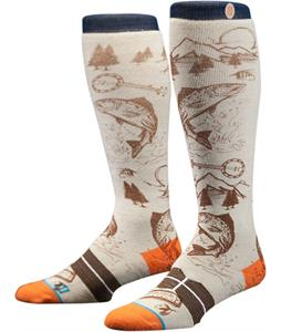 Stance E Jack Socks White