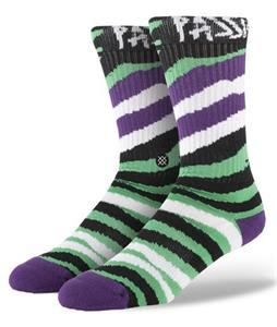 Stance Lizard King Socks Green