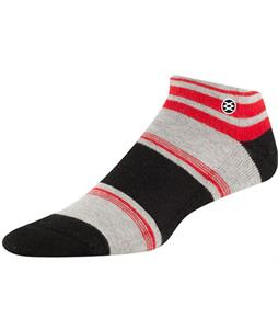 Stance Newcastle Low Socks Grey