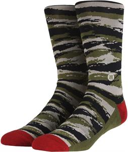 Stance Tiger Toe Socks Camo