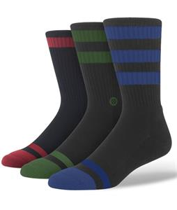 Stance Triple Threat Socks Black