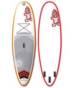 Starboard Whopper Astro Fun Inflatable SUP Paddleboard Orange 10ft x 35in