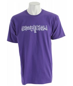 Stepchild Dirtbag T-Shirt Purple