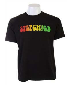 Stepchild Jah-P T-Shirt Black