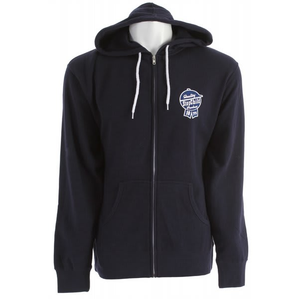 Stepchild Latchkey Fleece Zip Hoodie