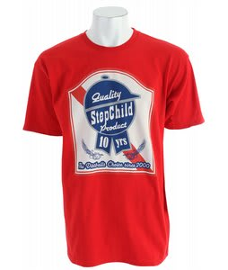 Stepchild Latchkey T-Shirt Red