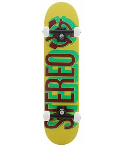 Stereo Brush Skateboard Complete Rasta