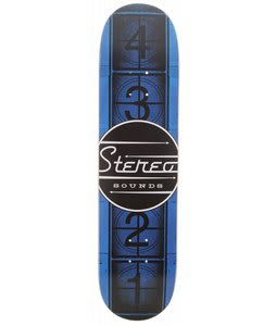 Stereo Filmstrip Skateboard Deck Blue