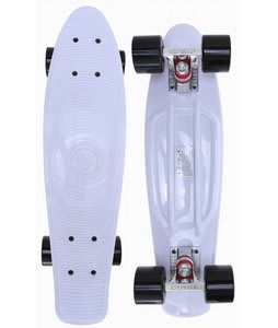 Stereo Keep A Breast I Love Boobies Cruiser Longboard Complete White/Black