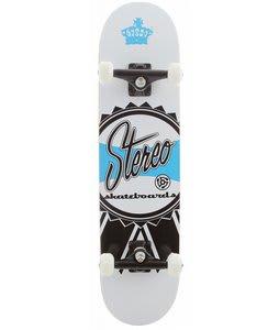 Stereo Ribbon Skateboard Complete White