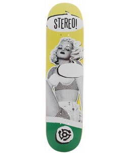 Stereo Speachless Skateboard Deck Yellow