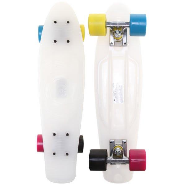 Stereo Vinyl Cruiser Skateboard Complete