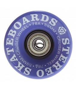 Stereo Vinyl Cruiser Skateboard Wheels