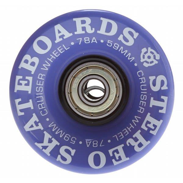 Stereo Vinyl Cruiser Skateboard Wheels