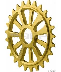 Stolen 7075 Eternity Ring Chainwheel Gold 25T