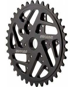 Stolen 7075 Mood Bike Chainrings Black 25T