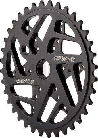 Shop for Stolen 7075 Mood Bike Chainrings Black 25T