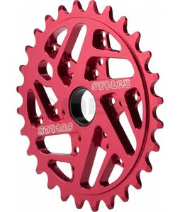Stolen 7075 Mood Ring Bike Chainwheel Red 25T