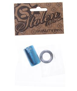 Stolen Nano Chromoly Peg Blue 14mm