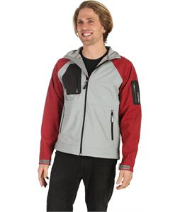 Stormtech Aeros H2Xtreme Shell Jacket Greystone/Wine