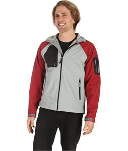 Stormtech Aeros H2Xtreme Shell Jacket Greystone/Wine